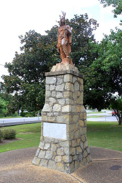 Sequoyah Statue - Calhoun, GA