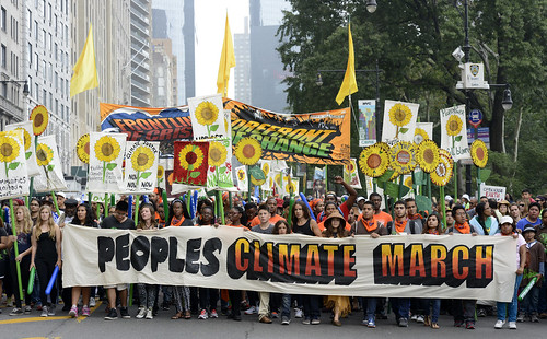 2014 People's Climate March NYC 5 | by Stephen D. Melkisethian