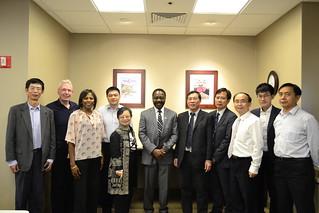 Nov 10' 16 XMU Deputy Secretary Mr. Jianfa Li Led Delegates to CISDSU