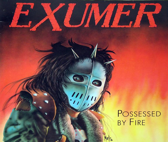 "EXUMER POSSESSED BY FIRE 12"" LP"