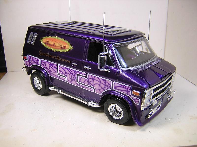 Revell 1 24 70x27s Custom Van By Mark On Flickr
