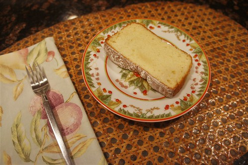 At Home 2016: Vanilla Sponge Cake