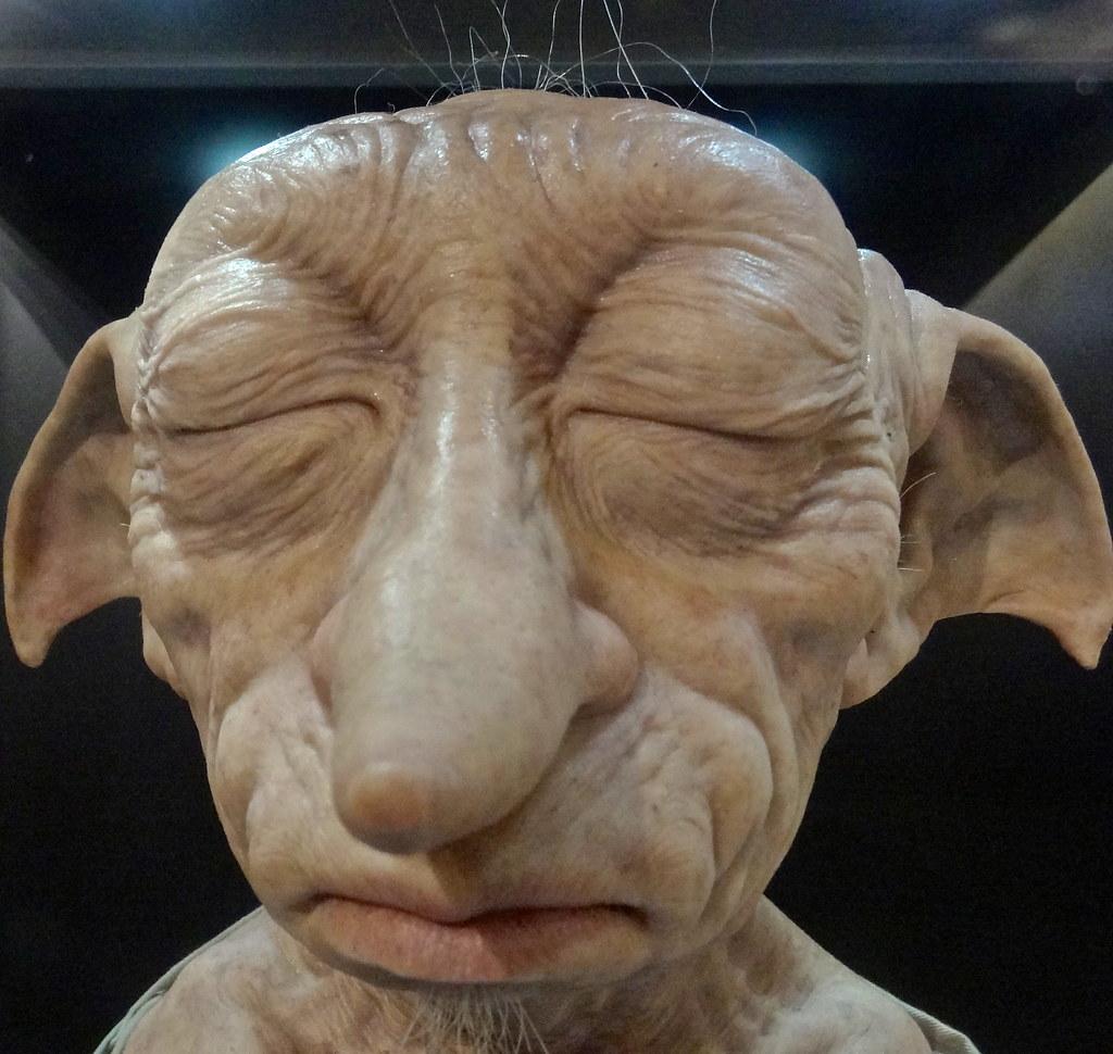 Warner Bros Studio Tour Dobby, The House Elf. The Making Of Harry Potter.  Warner Bros Studio Tour