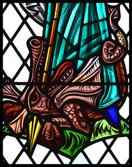 St Margaret's dragon by Paul Jefferies, 1968