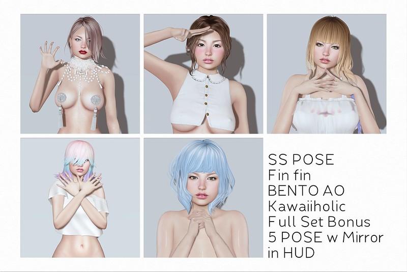 Bento SS POSE Fin fin // Bonus AO Kawaiiholic