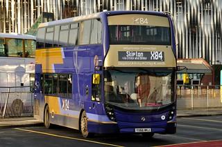 First West Yorkshire Alexander Dennis Enviro 400MMC 33486 YX66 WKJ