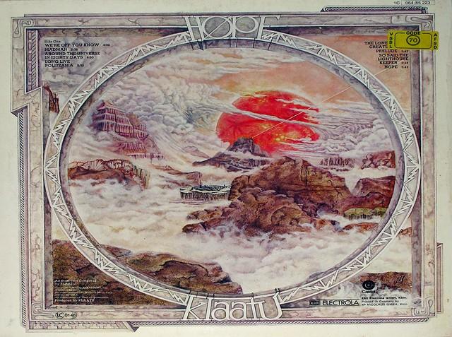 """KLAATU HOPE 12"""" VINYL LP"""