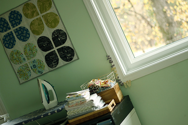 new sewing Room