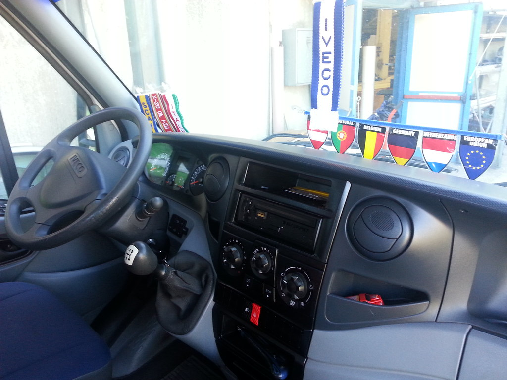 interior my iveco daily 35c15 by davide grayware98