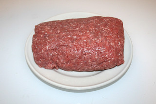 03 - Zutat Hackfleisch / Ingredient ground meat