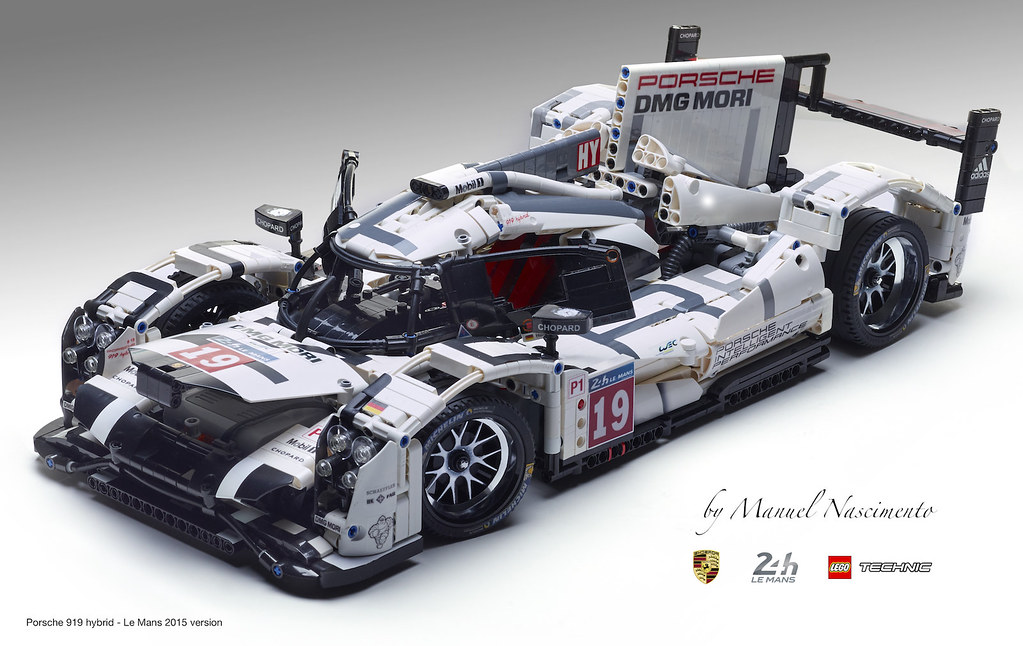 gorgeous fan built lego technic porsche 919 the 2015 le. Black Bedroom Furniture Sets. Home Design Ideas