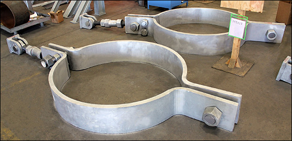 Custom Designed Pipe Hanger and Pipe Clamp Assemblies for an Ethane Cracker Facility in Texas