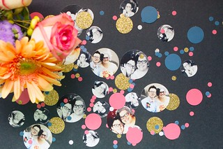 DIY Photo Confetti | by femmefraiche