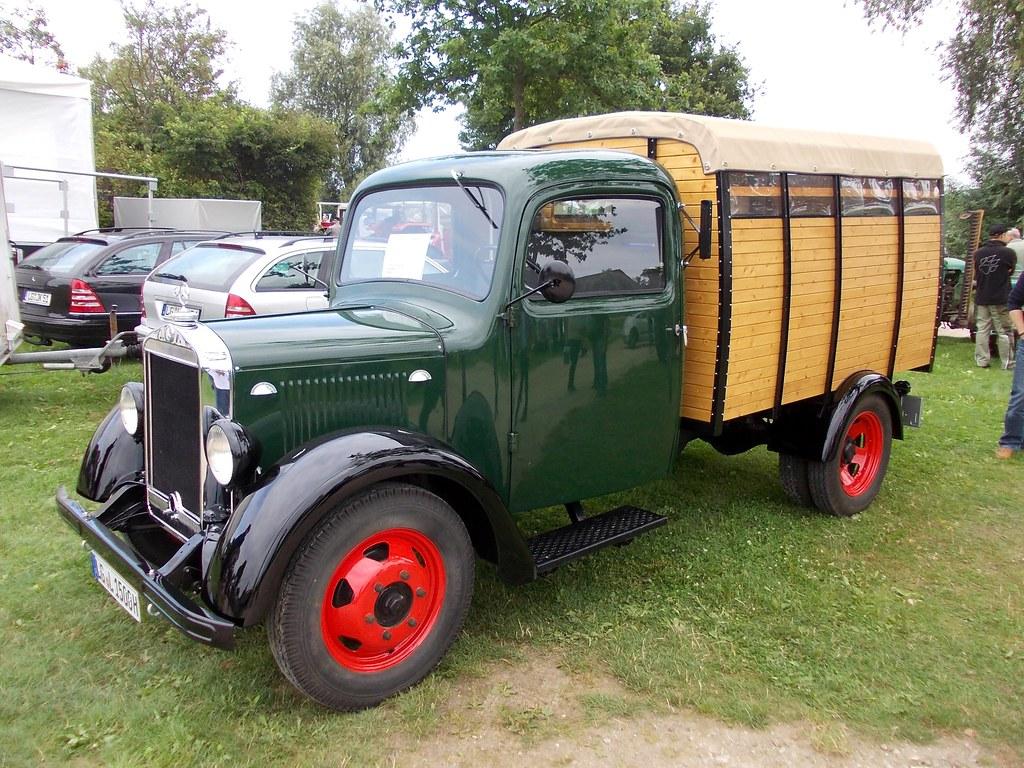 mercedes-benz l-1500 1938 | bleckede 2014 | hog troglodyte | flickr