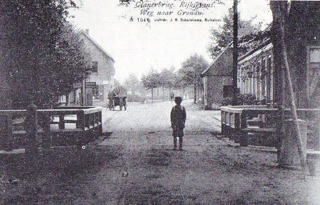 Grensovergang 1900~ Rijksgrens