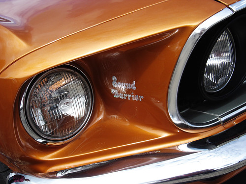 Desktop wallpaper - Orange Mustang | by My 67 Mustang