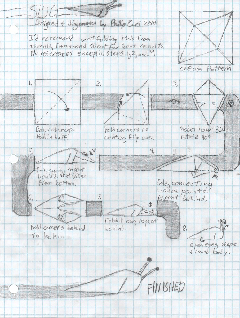 Origami Slug Diagram - Basic Guide Wiring Diagram •