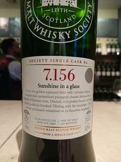 SMWS 7.156 - Sunshine in a glass