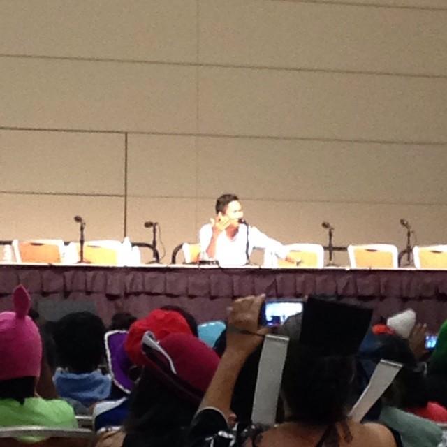 At The Dante Basco Panel The Crowd Chants Rufio Rufio R