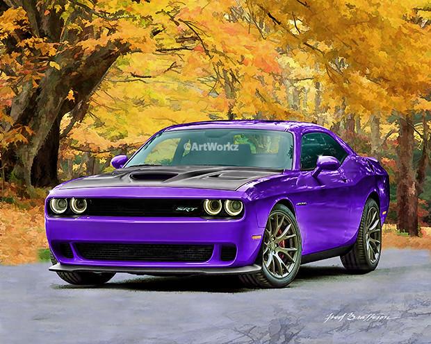 2015-Dodge-Challenger-Srt-Hellcat - Plum Crazy | 2015 Dodge … | Flickr