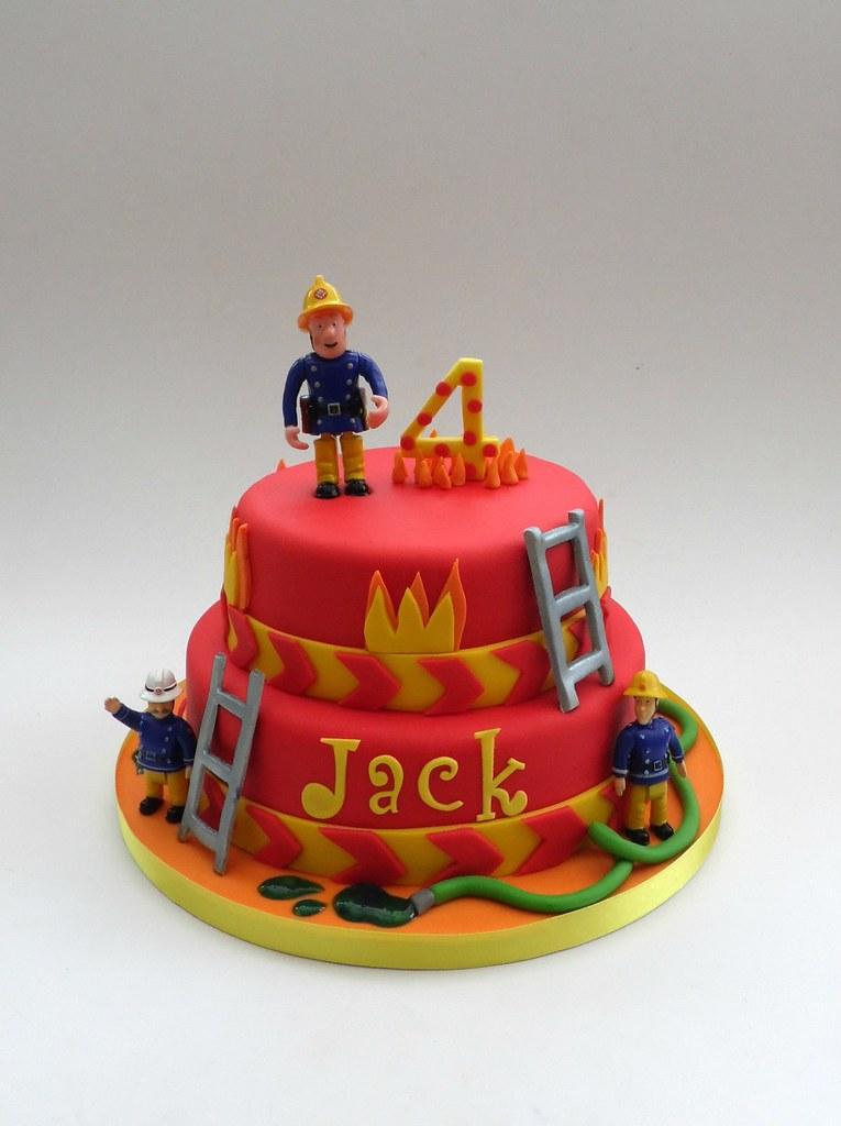 Fireman Sam Birthday Cake Melissa Rayner Flickr