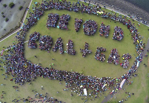 Sydney, Australia (human sign) | by peoplesclimate