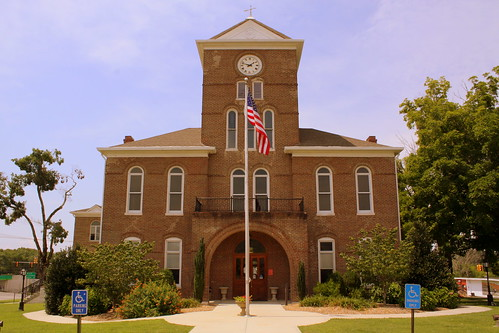 Meigs County Courthouse Front - Decatur, TN