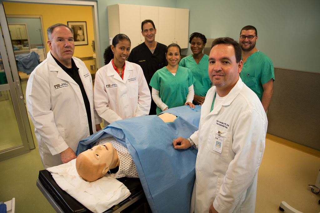 Nurse Anesthetist Professors Students Florida International