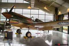 N293FR P-8121 88 - 21133 Private - Curtiss P-40K Warhawk - Evergreen Air and Space Museum - McMinnville, Oregon - 131026 - Steven Gray - IMG_8845_HDR