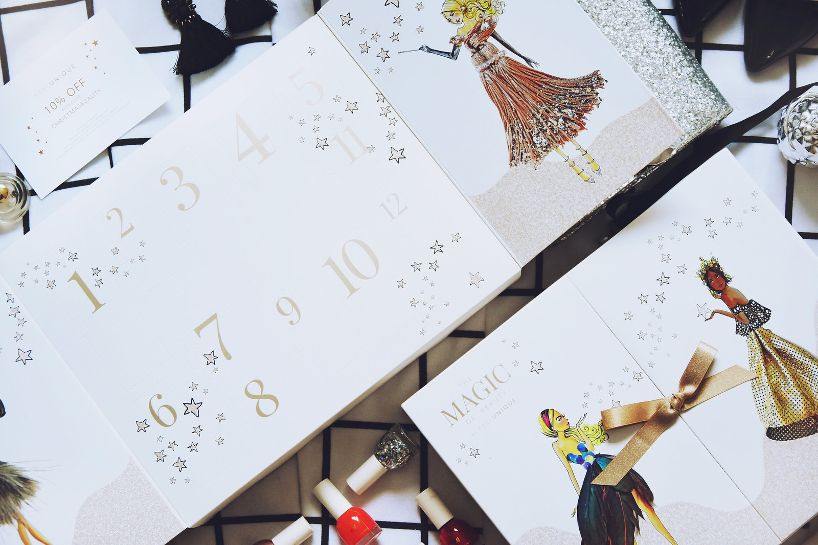 Beauty advent calendar giveaway