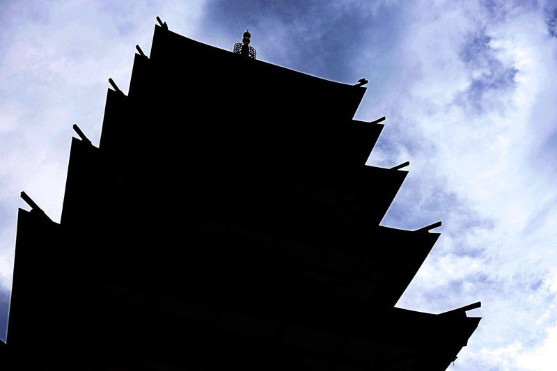 海老名市 七重の塔