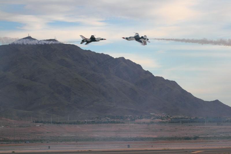 IMG_5263 Thunderbirds, Nellis AFB Air Show