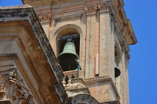 Die Glocke vom Karmeliterkloster zu Mdina