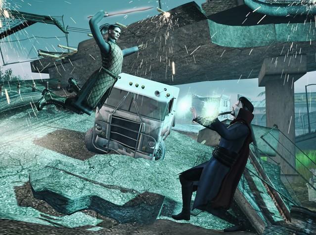 Doctor Strange & Kaecilius