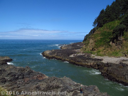 The entrance to the Churn, Cape Perpetua, Oregon