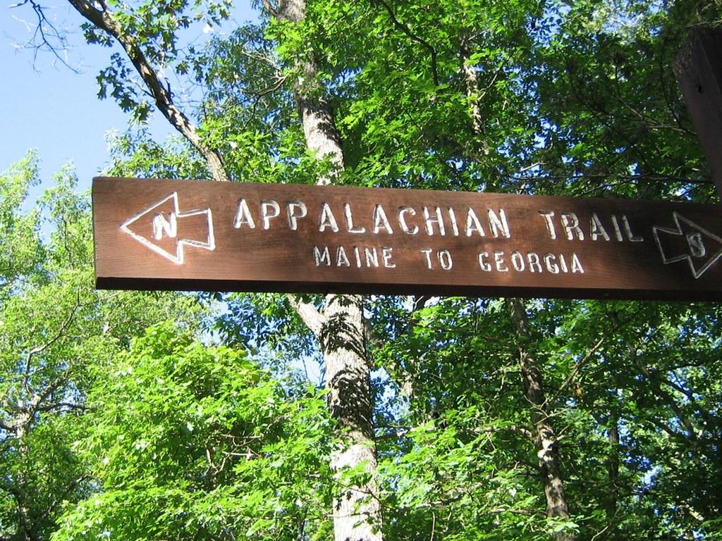 Appalachian trail sign