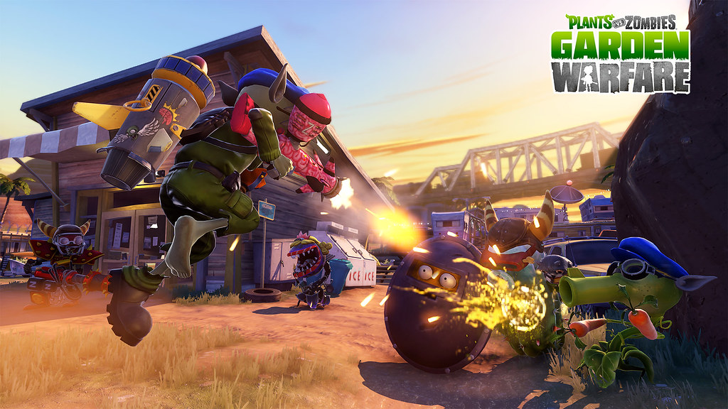 Plants Vs Zombies Garden Warfare On Ps4 And Ps3 Playstation Blog