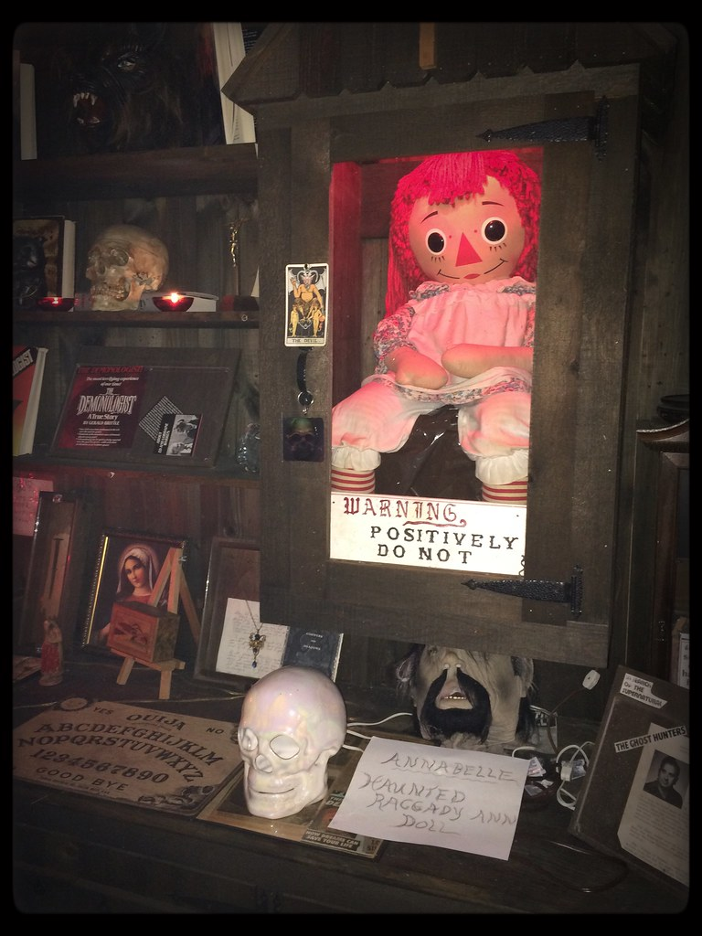 The Warren's Occult Museum in Monroe, Connecticut. Home of…   Flickr