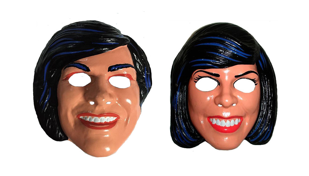 donnie and marie halloween masks 0001 by brechtbug
