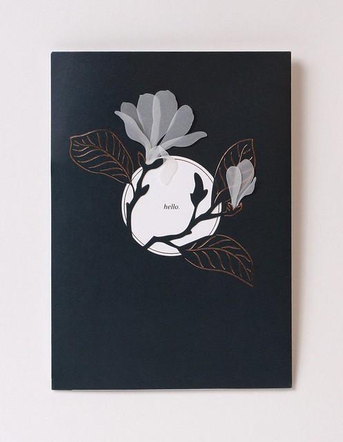 UWP Luxe Magnolia Card