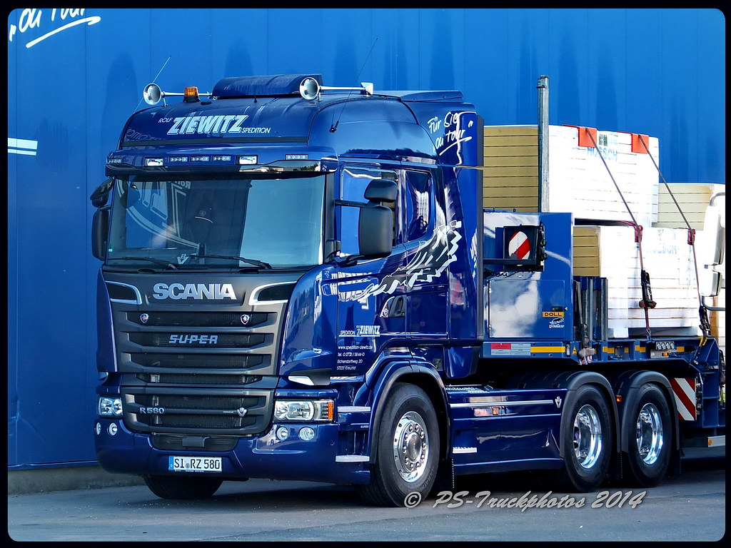 Extrêmement SCANIA R580 V8 6x4 Streamline Highline - Ziewitz RZ580 - D… | Flickr ZN38