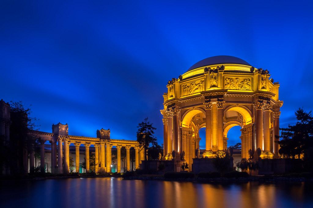 Blue Hour Palace Of Fine Arts San Francisco Long Exposur Flickr