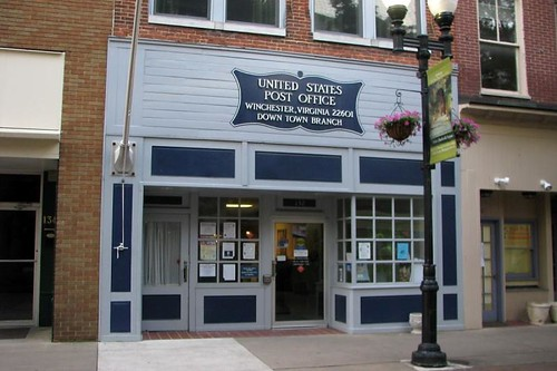 Winchester, VA: Downtown Station post office | by PMCC Post Office Photos