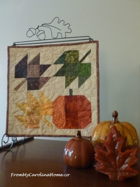 Autumn Jubilee Quilt Along ~ From My Carolina Home
