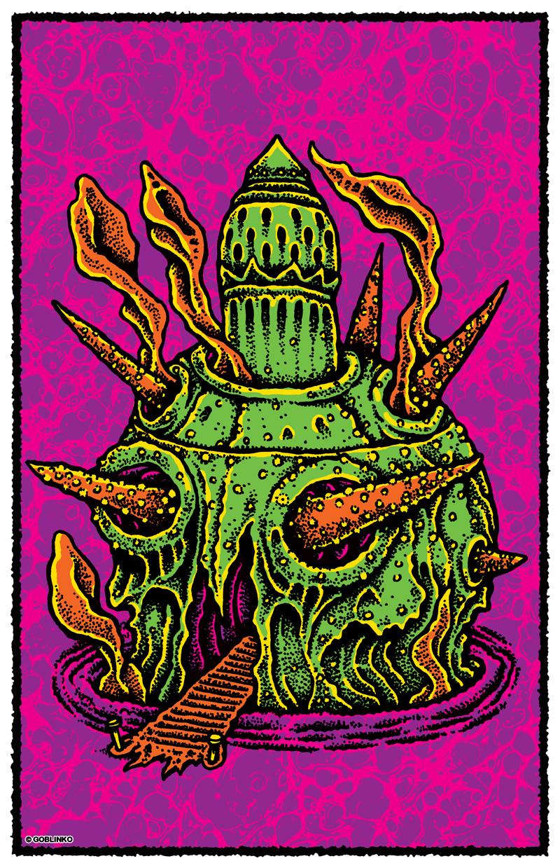 Sean Äaberg - Dungeon Degenerates, Temple of Madness