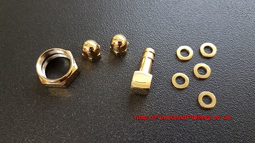 Gold Plated Scooter Bits | by PureGoldPlating