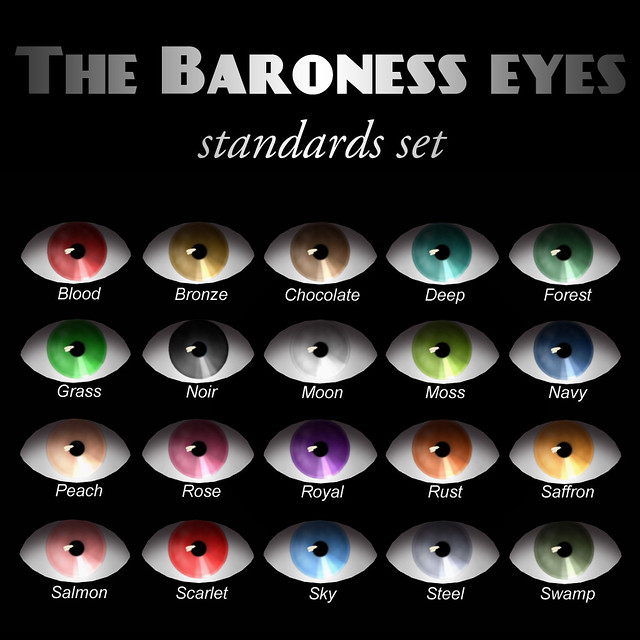 Devae. Baroness Eyes (standards)