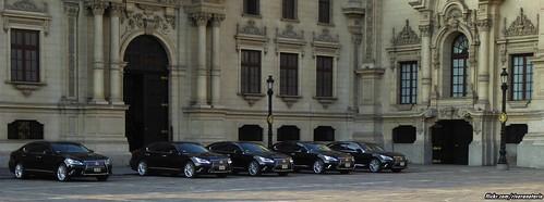 Lexus LS600hL Presidenciales - Casa de Pizarro, Lima