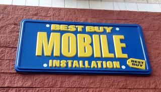 best buy mobile installation sign best buy mobile