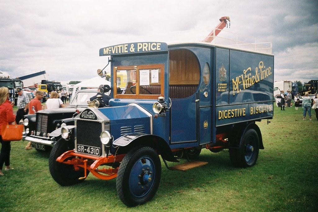 Vintage Biscuit truck